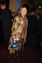 MIRANDA RICHARDSON at the gala night of Varekai by Cirque du Soleil at The Royal Albert Hall, London on 8th January 2008.<br />