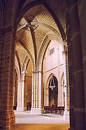 St. Mary's Cathedral; Santa maria la Real, Pamplona Spain, 15 century Gothic Church