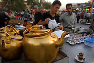 Kurdish Tea Stall Suliymaniya North Iarq