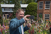 MARK MOODY, Press view of the 2016 RHS  Chelsea Flower Show,  London.