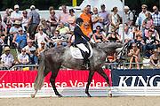 Vai Bruntink - Babushka<br /> FEI World Breeding Dressage Championships for Young Horses 2012<br /> © DigiShots