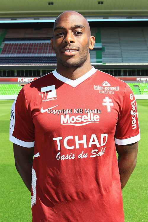 Jonathan Rivierez poses for a portrait during the Metz squad photo call for the 2016-2017 Ligue 1 season on September 15, 2016 in Metz, France<br /> Photo : Fred Marvaux / Icon Sport