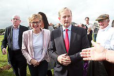 Enda Kenny at National Ploughing Championships, at Ratheniska, Co. Laois.