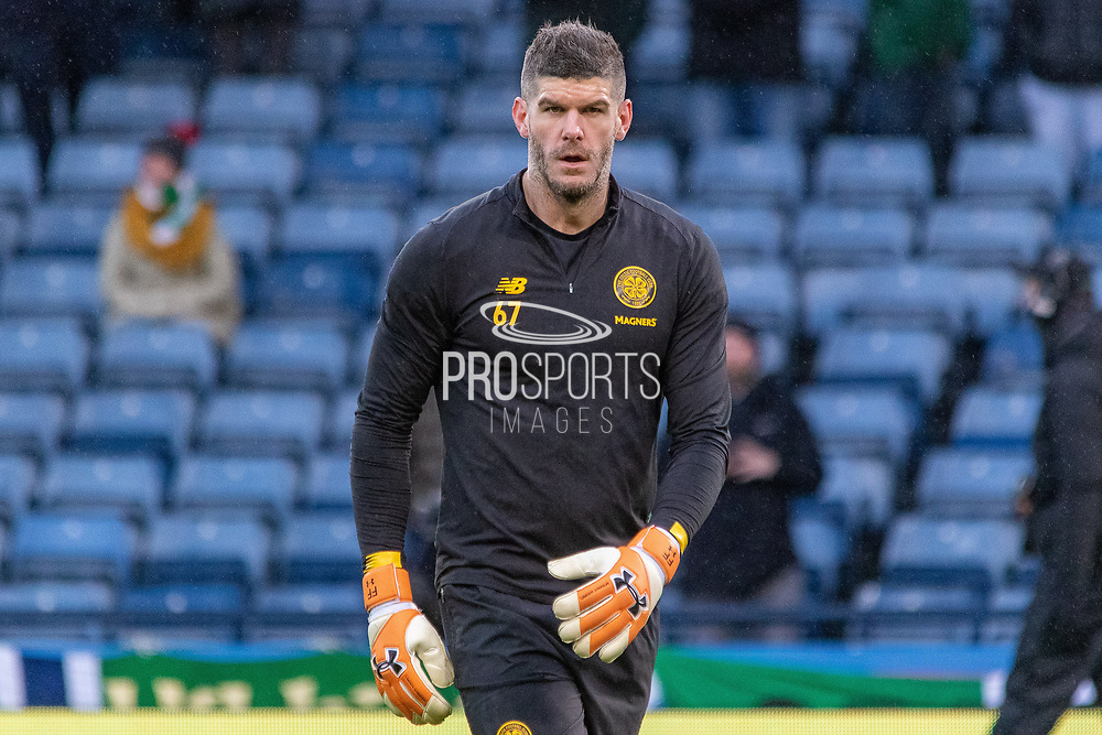 Celtic Shot Stopper Fraser Forster of Celtic FC ahead of the Betfred Scottish League Cup Final match between Rangers and Celtic at Hampden Park, Glasgow, United Kingdom on 8 December 2019.