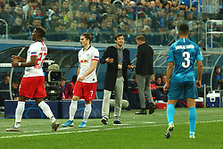 November 5, 2019, St. Petersburg, Russia: Russian Federation. Saint-Petersburg. Gazprom Arena. Football. UEFA Champions League. Group G. round 4. Football club Zenit - Football Club RB Leipzig. Sergey Semak. Head coach of FC Zenit Sergey Semak (Credit Image: © Russian Look via ZUMA Wire)