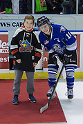 KELOWNA, CANADA - FEBRUARY 12:  Third Star of the Game Matthew Phillips #11 of the Victoria Royals at the Kelowna Rockets game on February 12, 2018 at Prospera Place in Kelowna, British Columbia, Canada.  (Photo By Cindy Rogers/Nyasa Photography,  *** Local Caption ***