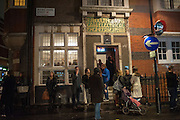 T J BOULTING, Hominidae- Henry Hudson private view. TJ Boulting. Riding House St. London. 20 November 2012.