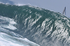 2011 - BODY SURFING AT THE WEDGE - NEWPORT - CALIFORNIA - USA