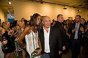 NAOMI CAMPBELL;PHILIP GREEN, Mario Testino: Obsessed by You -  private view<br />