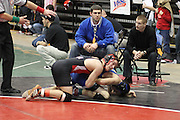 Date:  February/20/10, Group A and AA Wrestling State Championships, Salem, VA, Consolation bracket finals