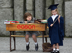 No fee for Repro: 12/08/2012.Pictured is nine year old Brandon Noble from Dundrum who teamed up with Eason to reveal details of its Back To School offering. Eason has taken the stress out of preparing for the school year ahead by offering a one-stop-shop both in store and online at EasonSchoolShop.com for all Back To School needs. Parents can take advantage of up to half price offers on many essential product lines including stationery, arts and craft and school bags. Online at EasonSchoolShop.com there is also free delivery nationwide on all orders over ?10. Pic Andres Poveda CPR.For more info contact:.Paula Donaghy/Elisabeth Fitzpatrick.WHPR.085 1218495 / 086 6092571