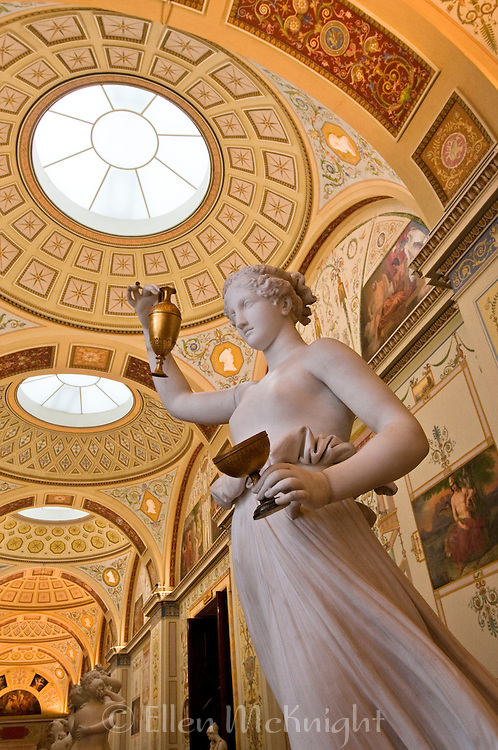 The State Hermitage Museum in St. Petersburg, Russia