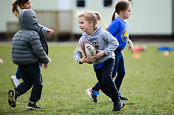 Pupils from Stoke Lodge Primary School play Tag Rugby during Sport Relief with help from the Bristol Rugby Community Foundation and Forever sport - Mandatory by-line: Dougie Allward/JMP - 23/03/2018 - Rugby - Stoke Lodge Primary School - Bristol, England - Sport Relief Tag Rugby