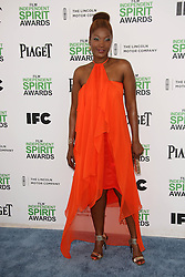 Yolanda Ross at the 2014 Film Independent Spirit Awards Arrivals, Santa Monica Beach, Santa Monica, United States, Saturday, 1st March 2014. Picture by Hollywood Bubbles / i-Images<br /> UK ONLY