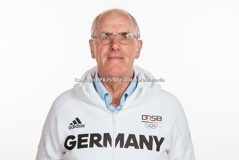 David Howlett poses at a photocall during the preparations for the Olympic Games in Rio at the Emmich Cambrai Barracks in Hanover, Germany, taken on 20/07/16 | usage worldwide