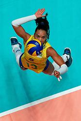 29-05-2019 NED: Volleyball Nations League Poland - Brazil, Apeldoorn<br /> Amanda Francisco #13 of Brazil