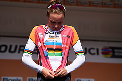 Stage winner, Chantal Blaak (NED) at Boels Ladies Tour 2018 - Stage 5, a 159.7km road race in Sittard, Netherlands on September 1, 2018. Photo by Sean Robinson/velofocus.com