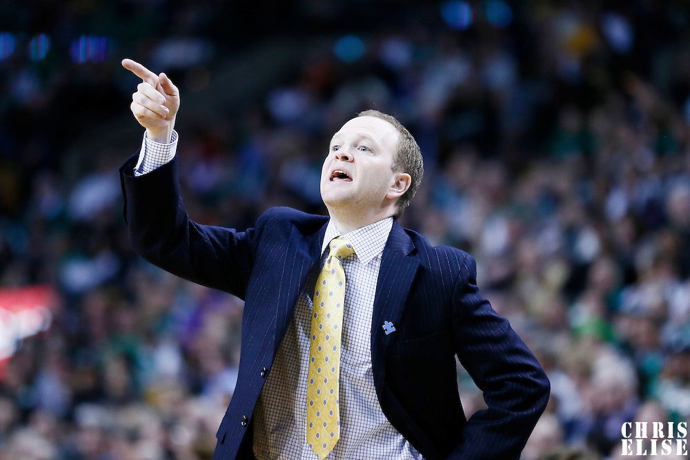 03 April 2013: Detroit Pistons head coach Lawrence Frank is seen during the Boston Celtics 98-93 victory over the Detroit Pistons at the TD Garden, Boston, Massachusetts, USA.