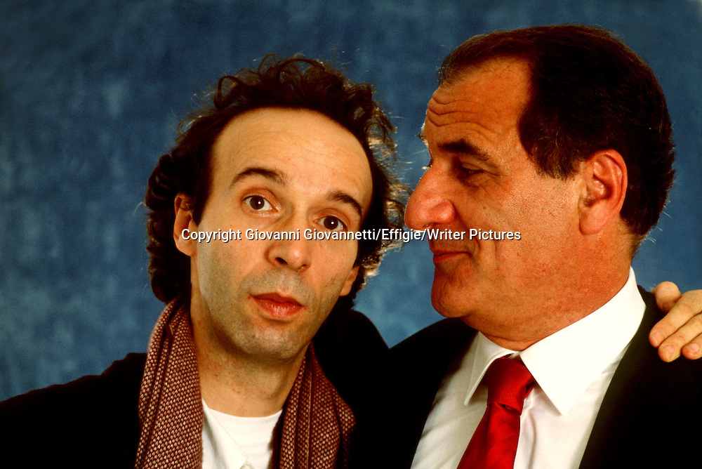 Roberto Benigni, Vincenzo Cerami<br /> <br /> <br /> 05/11/2012<br /> Copyright Giovanni Giovannetti/Effigie/Writer Pictures<br /> NO ITALY, NO AGENCY SALES