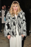 LONDON - November 10: Suki Waterhouse at the Peace Earth Foundation Fundraising Gala (Photo by Brett D. Cove)