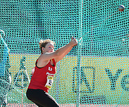 PORT ELIZABETH, SOUTH AFRICA, Friday 13 April 2012, Amy Botes in the women's hammer throw during the Yellow Pages South African Senior and Combined Events Championships held at the Xerox Nelson Mandela Metropolitan University, Nelson Mandela Bay..Photo by Roger Sedres/Image SA/ASA