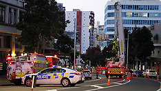 Auckland-Anzac Avenue 7 storey fall now suspicious