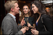 TOM COUCH; NATASHA MICHAELIDES; LUCIA GARIBAY, Ralph Lauren host launch party for Nicky Haslam's book ' A Designer's Life' published by Jacqui Small. Ralph Lauren, 1 Bond St. London. 19 November 2014
