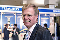 Christopher Chope, Conservative MP, UK. Britain. Glasses. Ref: 2000100246.<br />