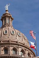 Lady Liberty Atop Texas Capitol