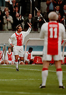 Photo: Gerrit de Heus. Amsterdam. 06/04/99. Honorary-match Johan Cruijff. Keywords: Cruyff, afscheid