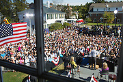 Vice President Joe Biden speaks at an Obama For America rally at Dartmouth College in Hanover, New Hampshire, September 21, 2012. (Official White House Photo by David Lienemann)