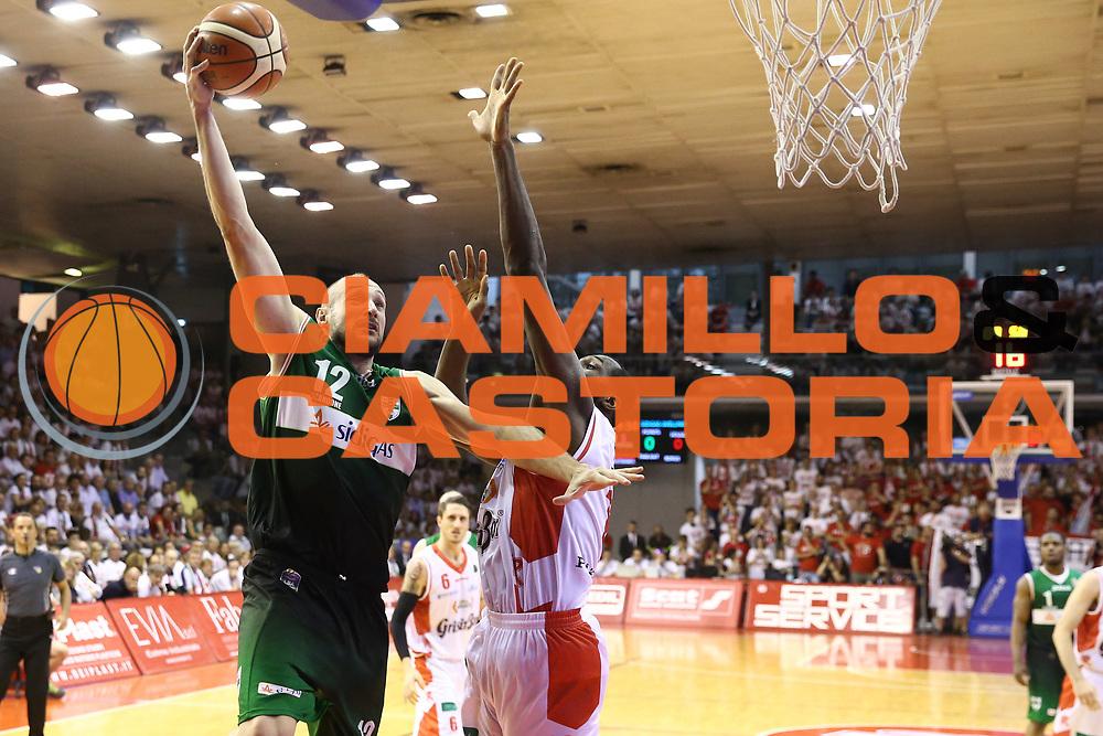 Cusin Marco<br /> Grissin Bon Reggio Emilia - Sidigas Avellino<br /> Playoff gara 3<br /> Legabasket A 2016/2017<br /> Reggio Emilia 17/05/2017<br /> Foto Ciamillo-Castoria