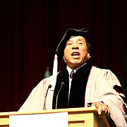 """Never ever give up on your dreams, because your dreams are you."" "".Never, ever get full of yourself. Never, ever think that you're it."".Smoky Robinson while addressing  the  graduates at  the Berklee's Commencement 2009. Robison receives an honorary degree for his achievements and influence in music. He says..."