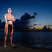 Images from a pre-Ironman Chattanooga Triathlon portrait session with Glenn R on Daniel Island near Charleston and Mt. Pleasant, South Carolina.