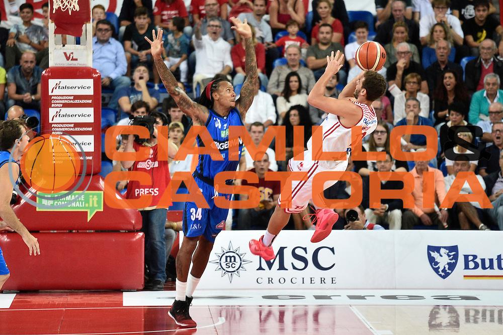 Cassese Alessandro<br /> Consultinvest Pesaro - Germani Basket Brescia<br /> BASKET Serie A 2016 <br /> Pesaro 02/10/2016 <br /> FOTO CIAMILLO
