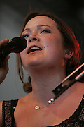 June 16, 2006; Manchester, TN.  2006 Bonnaroo Music Festival. Nickel Creek performs at Bonnaroo 2006.  Photo by Bryan Rinnert