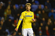 Patrick Bamford (9) of Leeds United during the EFL Sky Bet Championship match between Reading and Leeds United at the Madejski Stadium, Reading, England on 12 March 2019.