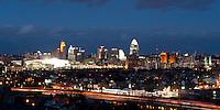 Cincinnati Ohio Panoramic Skyline