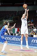 DESCRIZIONE : Riga Latvia Lettonia Eurobasket Women 2009 final 5th-6th Place Italia Grecia Italy Greece<br /> GIOCATORE : Laura Macchi<br /> SQUADRA : Italia Italy<br /> EVENTO : Eurobasket Women 2009 Campionati Europei Donne 2009 <br /> GARA : Italia Grecia Italy Greece<br /> DATA : 20/06/2009 <br /> CATEGORIA : tiro<br /> SPORT : Pallacanestro <br /> AUTORE : Agenzia Ciamillo-Castoria/E.Castoria<br /> Galleria : Eurobasket Women 2009 <br /> Fotonotizia : Riga Latvia Lettonia Eurobasket Women 2009 final 5th-6th Place Italia Grecia Italy Greece<br /> Predefinita :