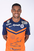 Yassine JEBBOUR - 23.07.2014 - Portraits officiels Montpellier - Ligue 1 2014/2015<br /> Photo : Icon Sport