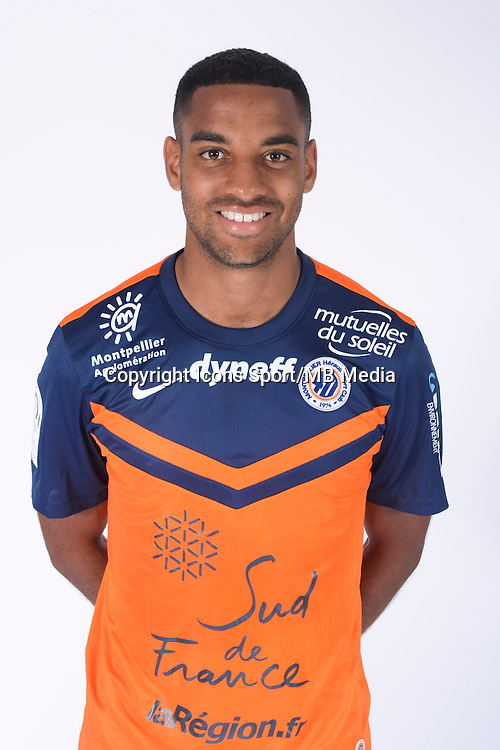Yassine JEBBOUR - 23.07.2014 - Portraits officiels Montpellier - Ligue 1 2014/2015<br /> Photo : Icon Sport