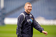 Finn Russell (#10) of Scotland during the Captain's training run for Scotland at BT Murrayfield, Edinburgh, Scotland on 8 March 2019 ahead of the Guinness 6 Nations match against Wales.