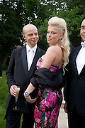 LEONA KARLOVA AND MARIA KARLOVA, Raisa Gorbachev Foundation Party, at the Stud House, Hampton Court Palace on June 7, 2008 in Richmond upon Thames, London,Event hosted by Geordie Greig and is in aid of the Raisa Gorbachev Foundation - an international fund fighting child cancer.  7 June 2008.  *** Local Caption *** -DO NOT ARCHIVE-© Copyright Photograph by Dafydd Jones. 248 Clapham Rd. London SW9 0PZ. Tel 0207 820 0771. www.dafjones.com.