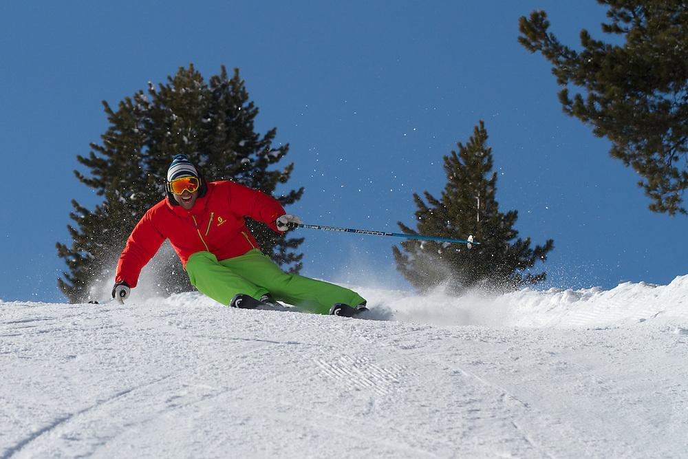 Ski Carving, Kuhtai, Tirol, Austria