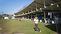 AMSTERDAM - tijdens week 11 van de PGA (vereniging van golfprofessionals) bijeenkomst op Amstelborgh in Amsterdam. COPYRIGHT KOEN SUYK