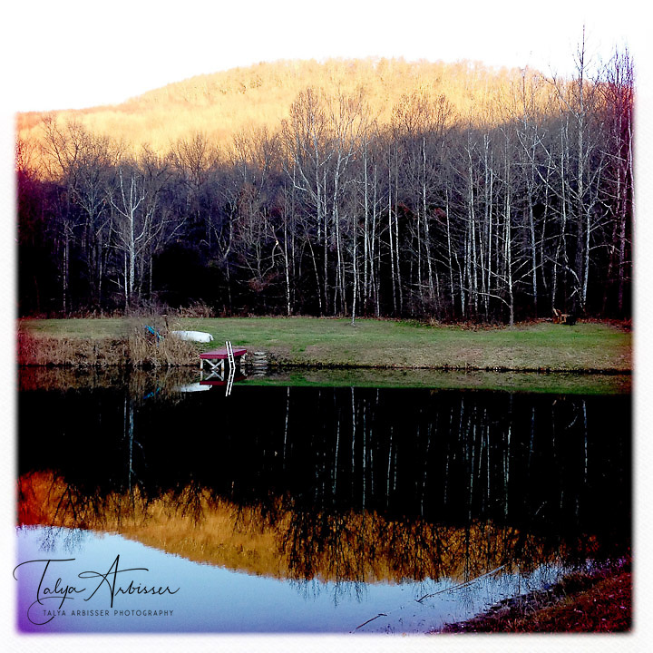 Mountain reflections - Dutchess County, New York