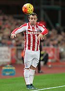 Xherdan Shaqiri of Stoke City in action against Chelsea during the Barclays Premier League match at the Britannia Stadium, Stoke-on-Trent.<br /> Picture by Michael Sedgwick/Focus Images Ltd +44 7900 363072<br /> 07/11/2015