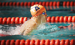 11082018 (Durban) Top Swimmer Rebecca Meder competing in Woman 100 meters Medley heat 11 during the coastal city of Durban play host to the 2018 SA National Swimming Championships (25m), with the action set to start from 9th to 12th August at the Kings Park Aquatics Centre.<br /> Picture: Motshwari Mofokeng/African News Agency (ANA)