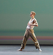 BBC Young Dancer 2015 <br /> at Sadler's Wells, London, Great Britain <br /> 8th May 2015 <br /> <br /> Grand Final <br /> TX Saturday 7pm on 9th May 2015 <br /> <br /> <br /> Connor Scott - Contemporary <br /> WINNER <br /> <br /> <br /> Connor Scott - Contemporary <br /> in a duet with Meshach Henry <br /> dancing a piece called Blood Snow <br /> <br /> <br /> <br /> Photograph by Elliott Franks <br /> Image licensed to Elliott Franks Photography Services