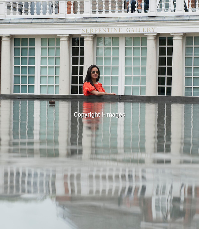 Serpentine Gallery Pavilion designed by Jacques Herzog  Pierre de Meuron & Ai Weiwei, Thursday May 31, 2012. Photo By i-Images
